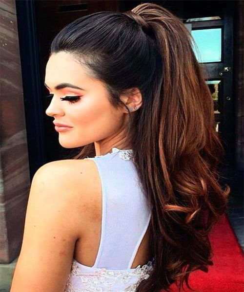 Long Ponytail Hairstyles 2017 New Hairstyle Trends Pinterest