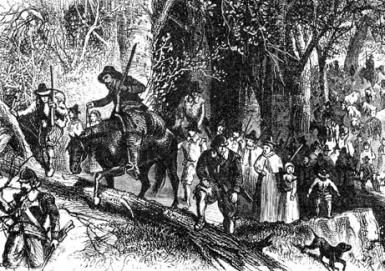 How Connecticut Colony Was Founded: Connecticut Colony - Thomas Hooker's Emigration