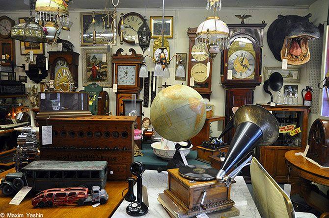 • Американские антикварные магазины