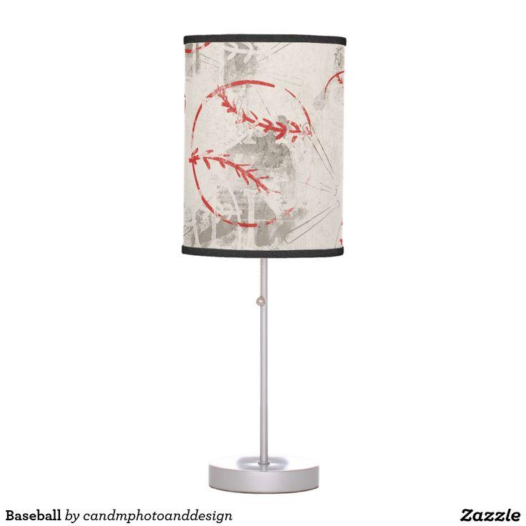 Baseball Desk Lamp