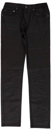 Belstaff Coated Five-Pocket Jeans