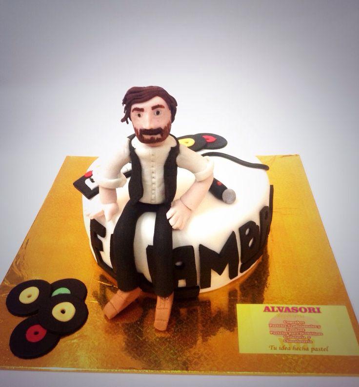 Pastel de la banda mexicana Enjambre. Solo para fans #cake # EnjambreMX # Music