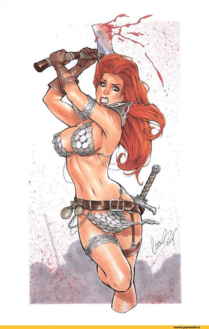 Red Sonja,Рыжая Соня,Marvel,фэндомы,Elias-Chatzoudis,арт барышня,арт девушка, art барышня, art девушка,,красивые картинки