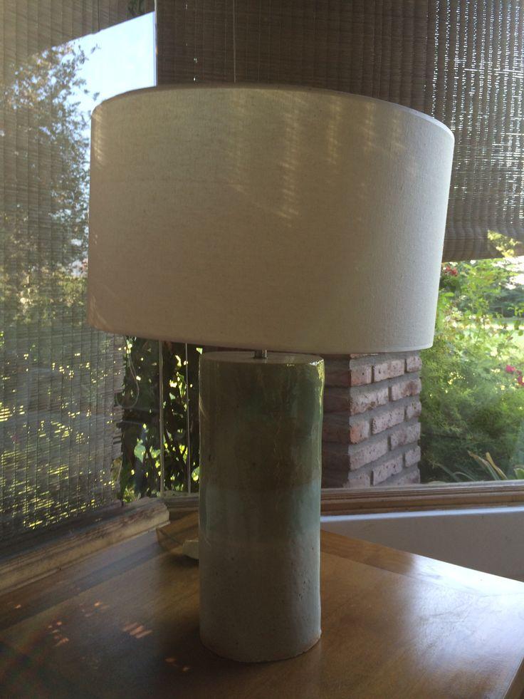Lámpara de ceramica