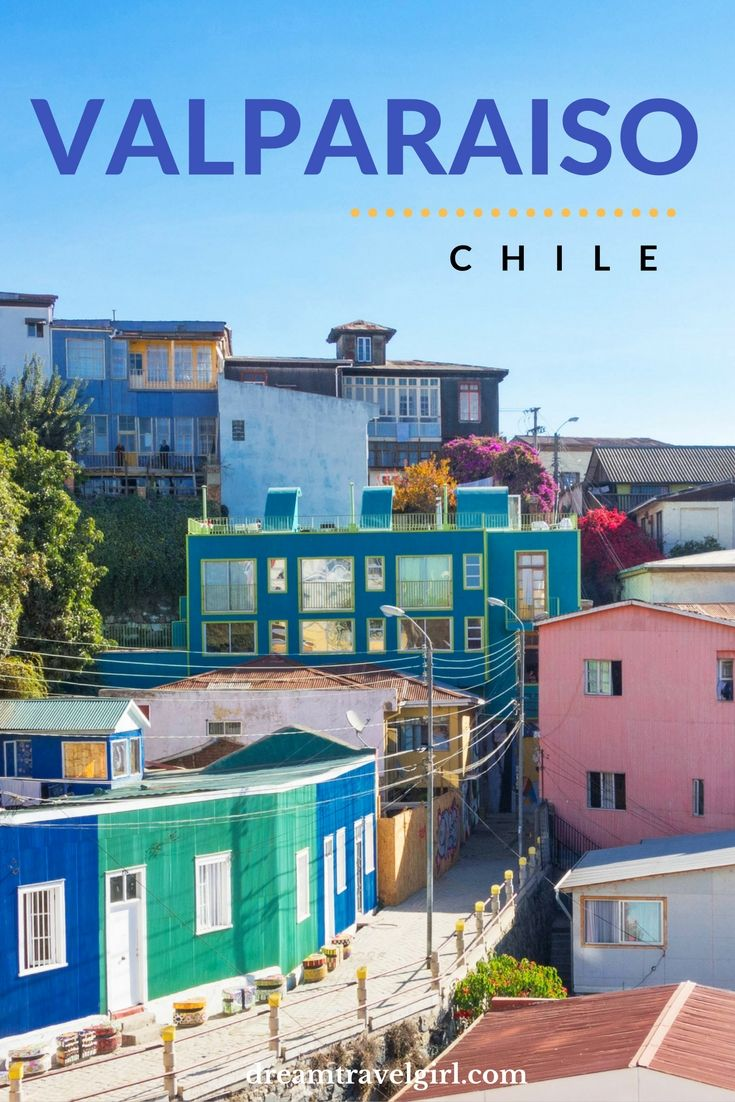 Valparaiso, Chile. With its colorful houses, cobbled streets,  street art and great views from the hills, it's a great place to explore for a few days.