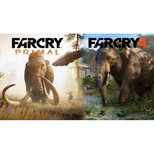 Far Cry 4 & Far Cry Primal Double Pack PS4 Game   http://gamesactions.com shares #new #latest #videogames #games for #pc #psp #ps3 #wii #xbox #nintendo #3ds