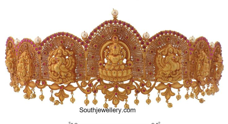 Antique Gold Vaddanam