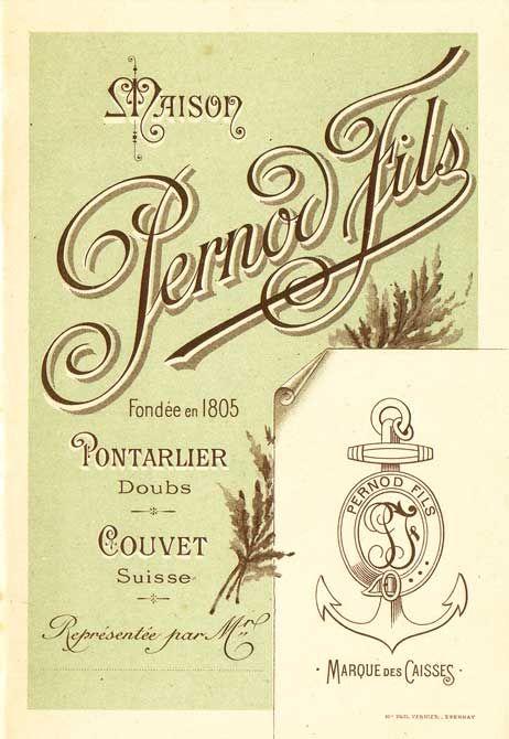 Maison Pernod Fils pricelist.