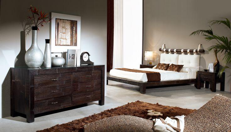 dormitorio bambú modelo africa