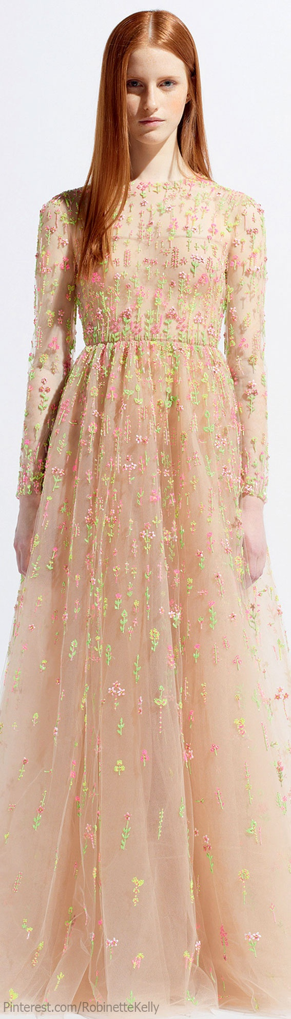 Can't stop pinning these Valentino Resort 2014 dresses. ♡