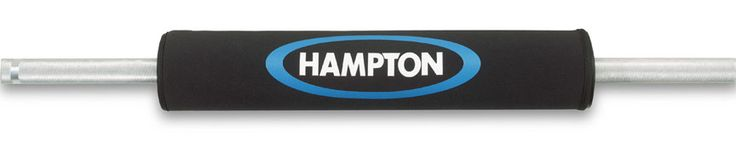 No more pain in the neck! The Hampton Extra Thick Foam Barbell Pad fits on any regular or Olympic bar and is ideal for avoiding neck and shoulder pain when performing squats or lunges.