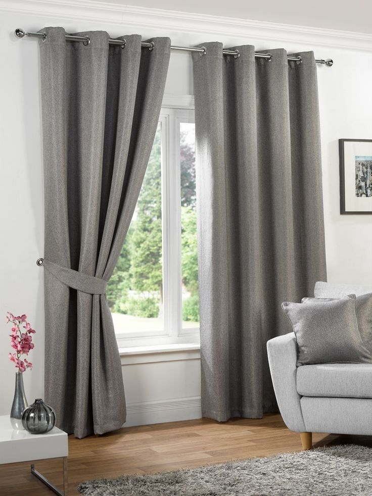 Neva Ready Made Blackout Eyelet Curtains