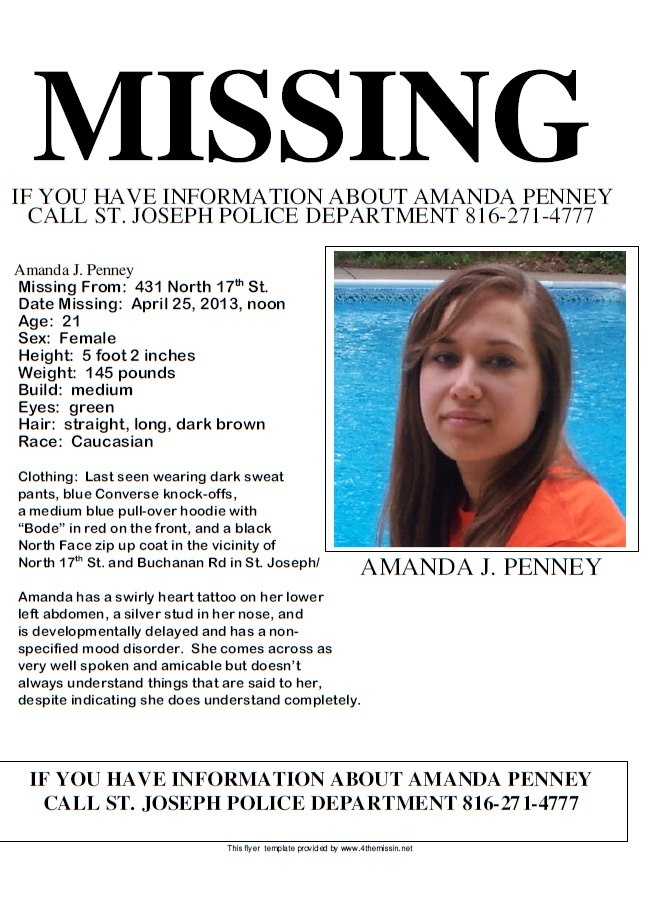 126 best HELP BRING THEM HOME images on Pinterest Searching - missing persons template