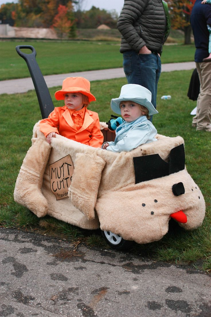 Dumb and dumber - twin Halloween costume