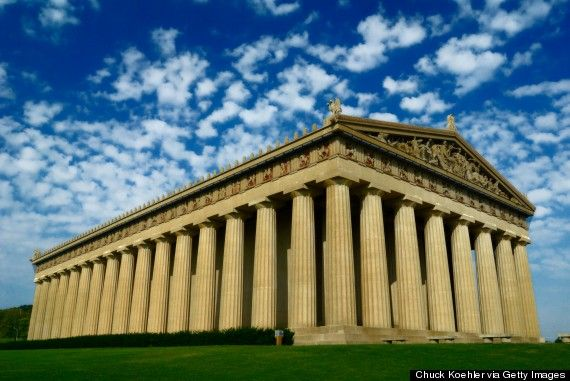 List of 22 reasons one should visit Nashville, Tennessee, USA  - #10.The full scale replica of the Parthenon.
