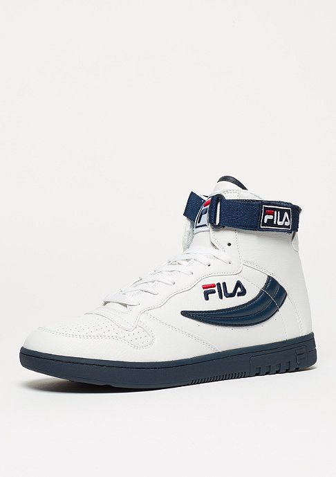 Fila Schuh Heritage FX-100 Mid white/dress blue