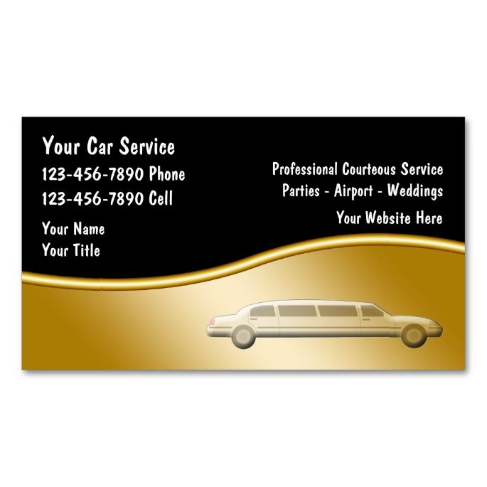2018 best limo taxi business cards images on pinterest. Black Bedroom Furniture Sets. Home Design Ideas