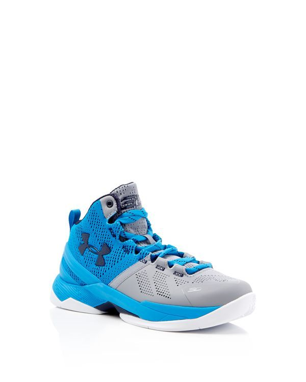 Under Armour Boys' Curry Two High Top Sneakers - Big Kid