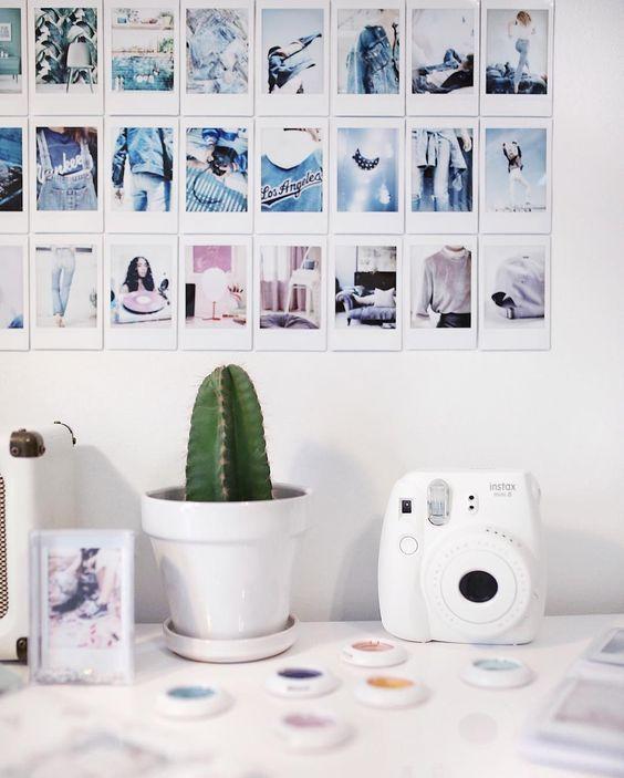 Diy Fotos Do Instagram Em Polaroid Decor In 2019 R O O M