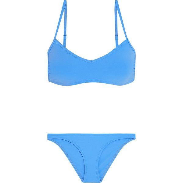 Flagpole Swim Barkley cutout bikini ($415) ❤ liked on Polyvore