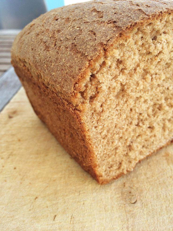 Ψωμί με αλεύρι Ζεας (δοσολογία για 1 ψωμί)