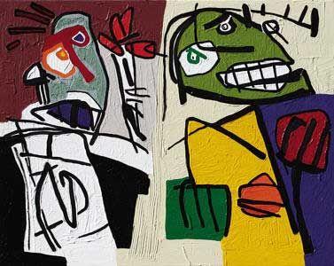 Thrill - Paul du Toit - Outsider art, 2007