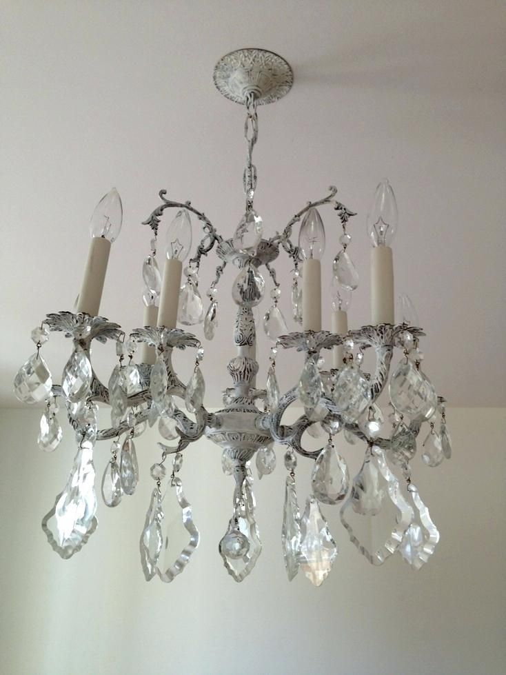 20 Reuse Ideas for Dated Brass and Glass Chandeliers | Glass
