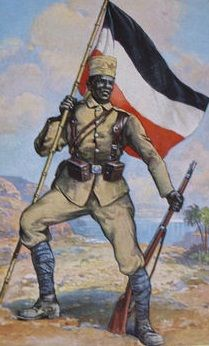 WW1 German East Africa Askari ~Repinned via Christopher George