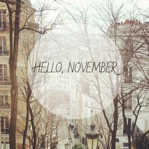 Image result for #HappyNewMonth;Welcome to November!
