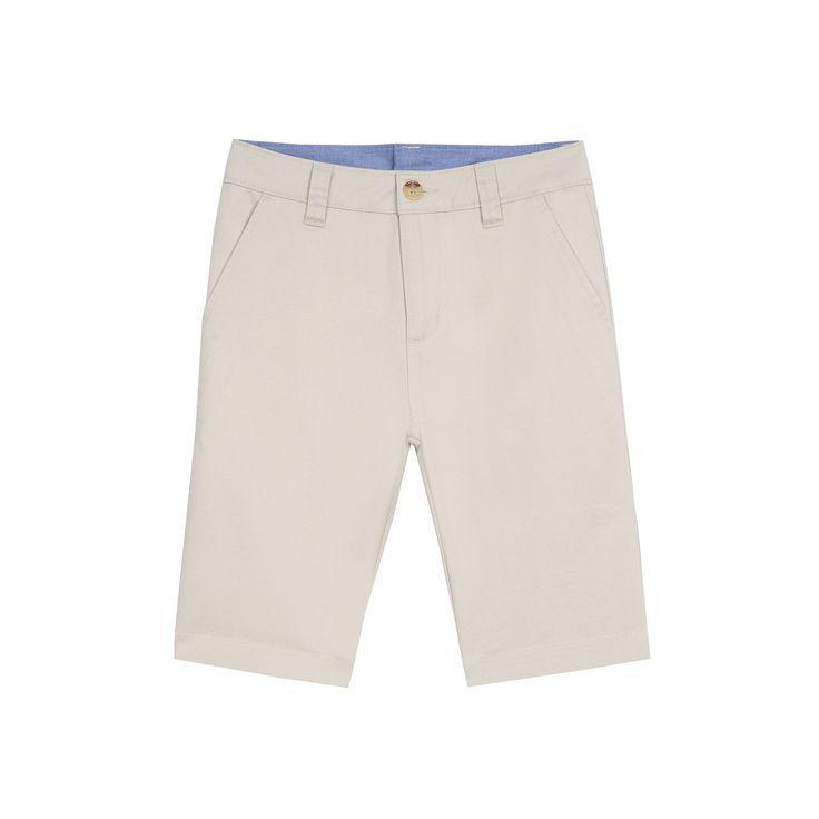 Boys 4-20 Chaps Flat-Front Shorts, Boy's, Size: 12, White Oth