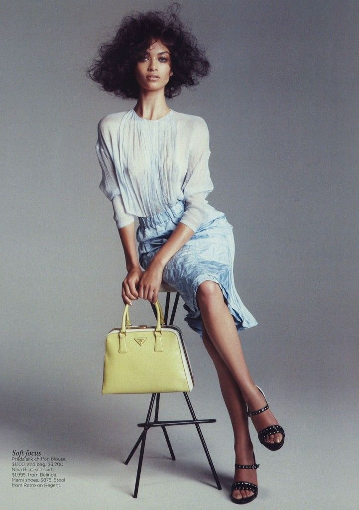 """Head of the Curve"" : Shanina Shaik : Vogue Australia May 2012 : Nicole Bentley"