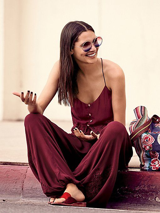 Jumpsuit set, $118 at Free People | http://www.hercampus.com/style/9-clothes-accessories-free-people-are-perfect-festival-season