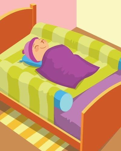PROTEÇÃO CONTRA QUEDAS | Se seu filho se mexe muito ao dormir, coloque uma boia do tipo espaguete nas laterais da cama e ponha um lençol com elástico por cima