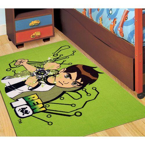 Ben 10 Green Kids Rug Easy Australia 01 Large