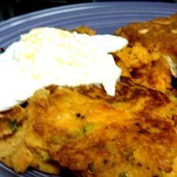 Sweet Potato Latkes Allrecipes.com