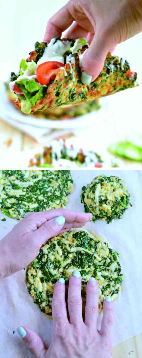 SOFT TACO RECIPE WITH SPINACH |LOW CARB TACO SHELLS - cheese, gluten free, healthy, low carb, recipes, spinach, taco
