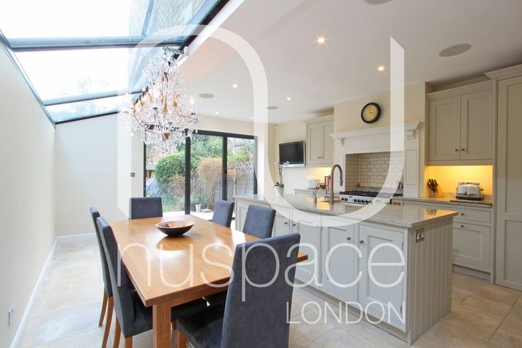 Nu space extension not sure the width of the property but for Kitchen ideas 5m x 3m