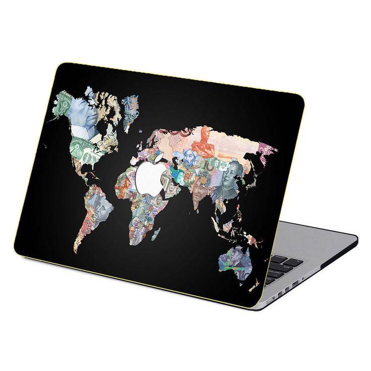 World money paint pattern Case key Cover Fr Macbook Pro Air 11 13 15  Retina 12
