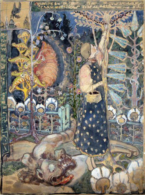 Yelena Polenova - Fairy Tale, 1895