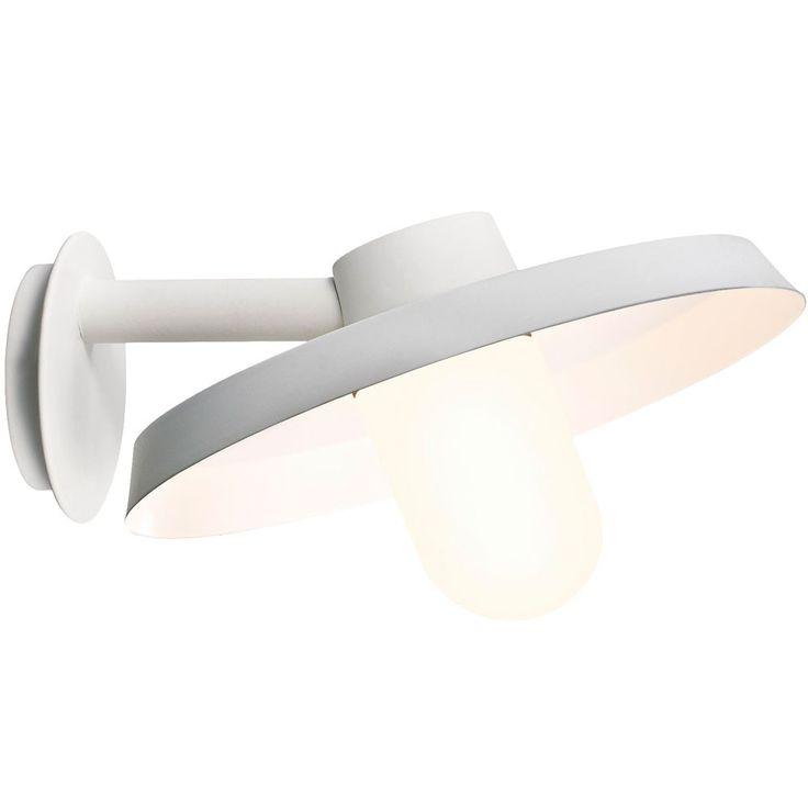 Nordlux Wand Lampe Garten Leuchte weiß Stahl verzinkt ELEMENTS  kaufen