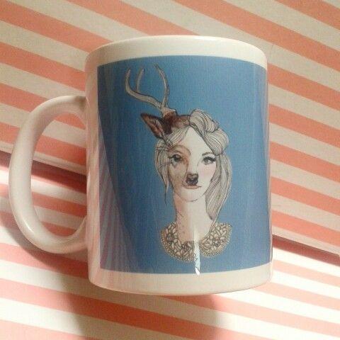 Taza Deergirl ♥