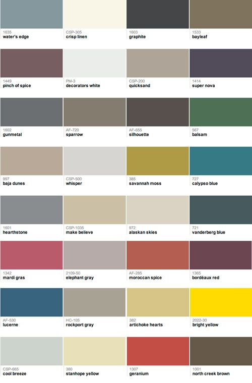 41 Best Benjamin Moore Paint Color Swatches Images On