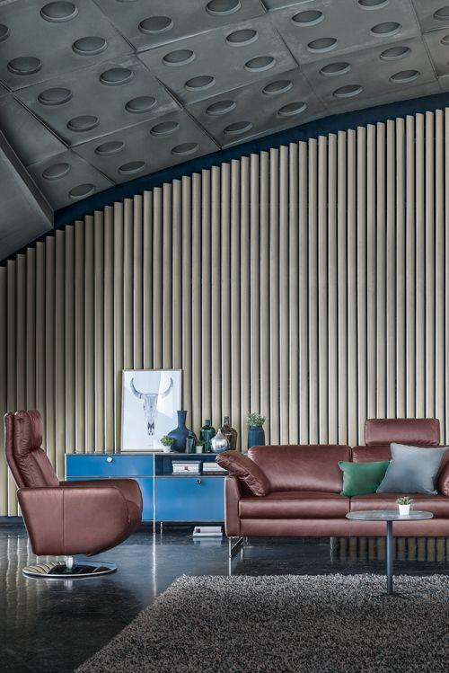 Immer in bester Gesellschaft mit Contur Caserta von Spitzhüttl Home Company. #einrichtung #möbel #sofa #leder #contur