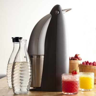 SodaStream Penguin Sparkling Water Maker #williamssonoma