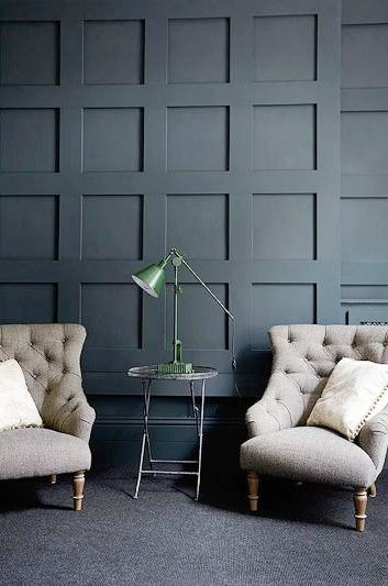 Wall Paneling in a London Victorian