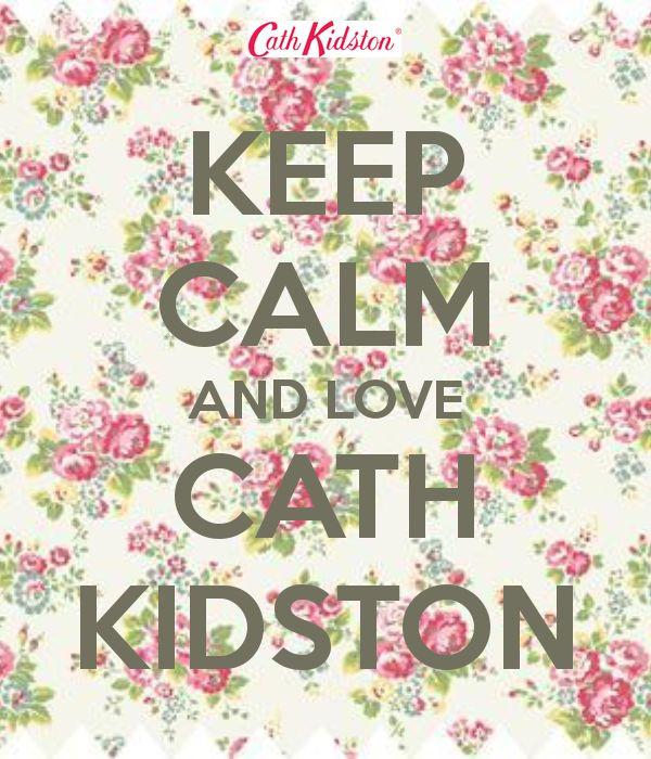 I do keep calm when visiting a cath kidston shop....NOT