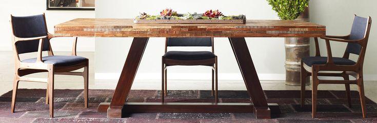Teak House | Обеденные столы из массива дерева тика