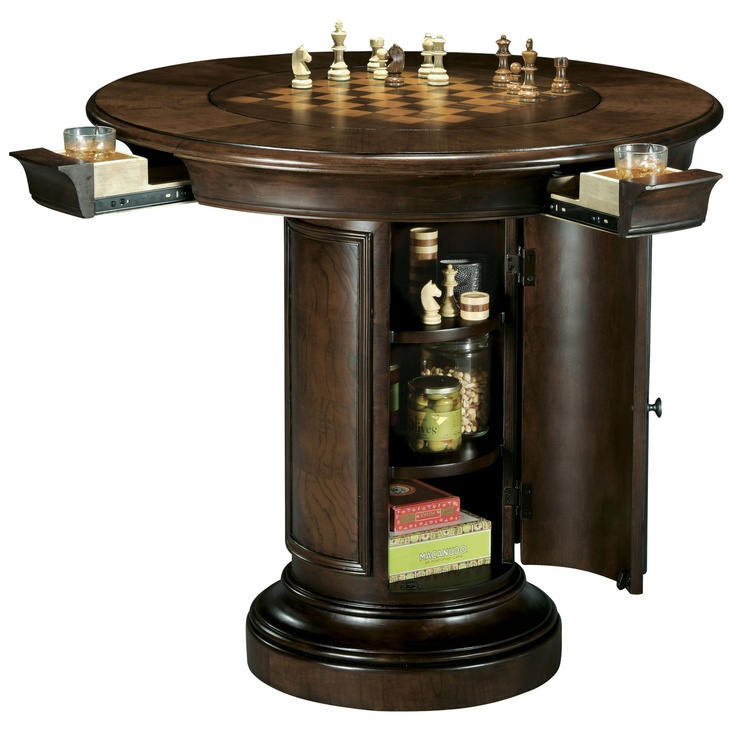 game table pub height Hang Out Room Pinterest