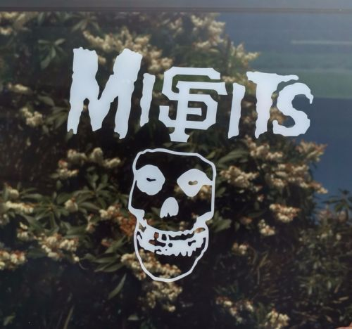 MiSFits SF Giants decal,die cut vinyl sticker,punk,baseball,san francisco. Decal