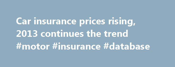 1000 Ideas About Car Insurance Cost On Pinterest